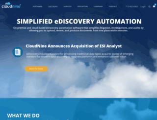 cloudninediscovery.com screenshot