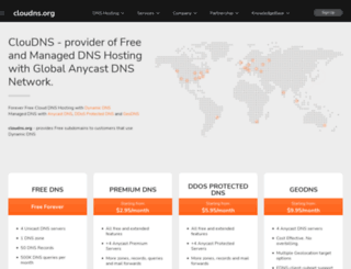 cloudns.org screenshot