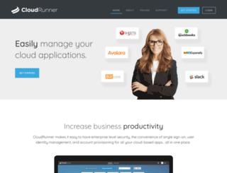 cloudrunner.com screenshot