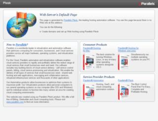 cloudserver24.com screenshot