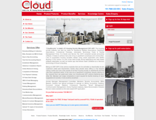 cloudsociety.in screenshot