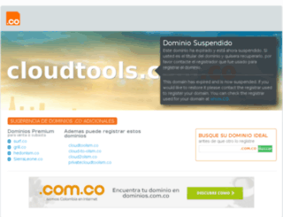 cloudtools.com.co screenshot