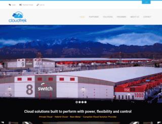 cloudtrek.com screenshot