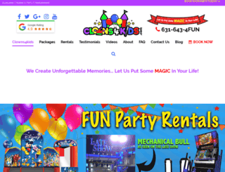 clowns4kids.com screenshot