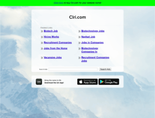 clri.com screenshot