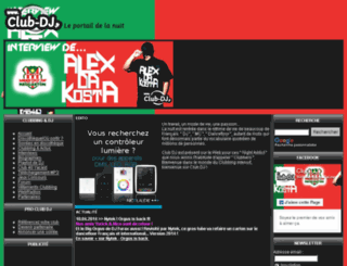 club-dj.fr screenshot
