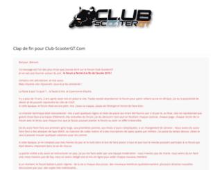 club-scootergt.com screenshot