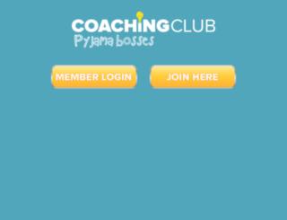 club.pyjamabosses.com screenshot