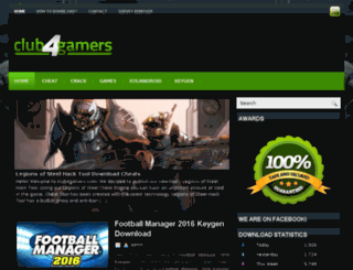 club4gamers.com screenshot