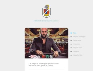 clubdeporteslaserena.cl screenshot