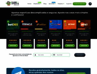clubedaposta.com screenshot