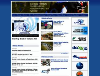 clubedeciclismosjc.com.br screenshot