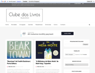 clubedoslivros.org screenshot