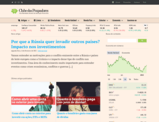 clubedospoupadores.com screenshot