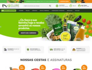 clubeorganico.com screenshot