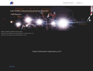 clubf1alonso.com screenshot