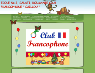 clubfrancais-ecole2galati.webs.com screenshot