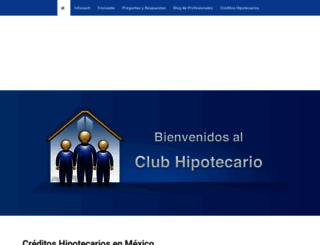 clubhipotecario.com.mx screenshot