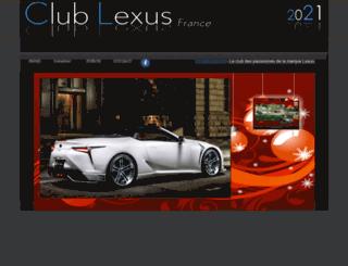 clublexis.com screenshot