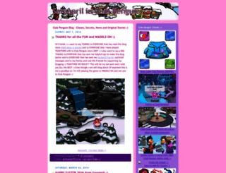 clubpenguinsaraapril.com screenshot