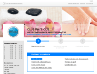 clubphysique.datedechoix.com screenshot