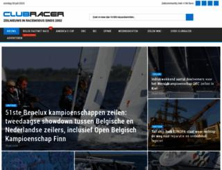 clubracer.be screenshot