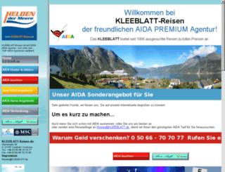 clubschiff.kleeblatt.de screenshot
