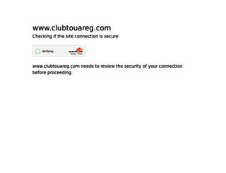 clubtouareg.com screenshot