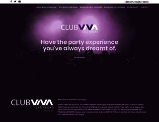 clubvivalasvegas.com screenshot