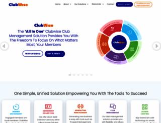 clubwise.com screenshot