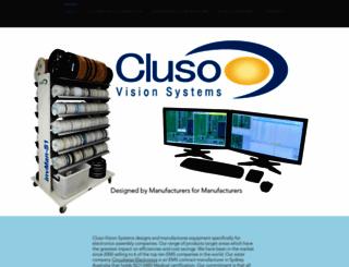 cluso.com.au screenshot