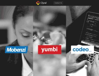 clyral.com screenshot