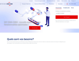 cma-cgm.fr screenshot