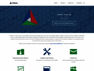 cmake.org screenshot