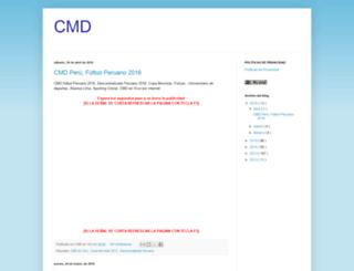 cmdperu1.blogspot.com screenshot