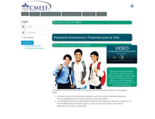 cmeef.org.mx screenshot