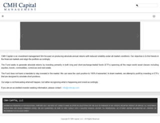 cmhcap.com screenshot
