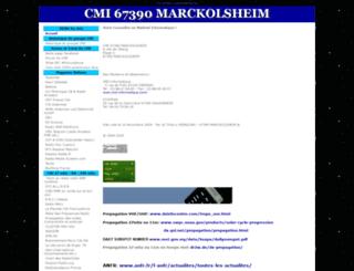 cmi-alsace.com screenshot