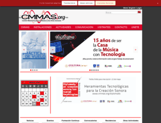 cmmas.org screenshot