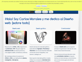 cmorales.es screenshot