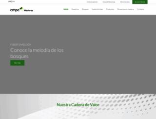 cmpcmaderas.com screenshot