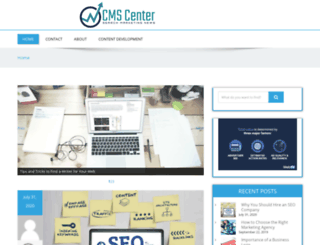 cms-center.com screenshot