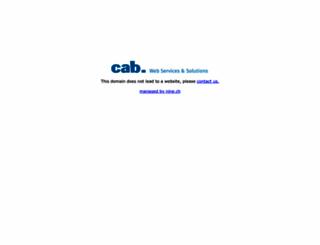 cms-typo3.ch screenshot