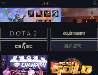 cms.766.com screenshot