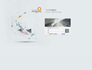cms.mgcc.com.cn screenshot