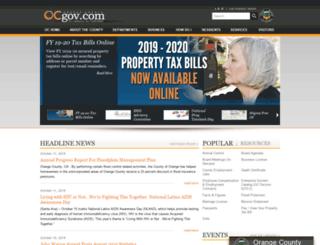 access cms ocgov com orange county california homepage