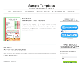 cmsandblogtemplates.com screenshot