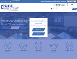 cmscepcor.com screenshot