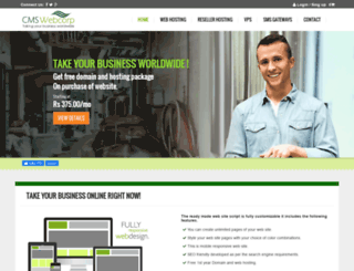 cmswebcorp.com screenshot