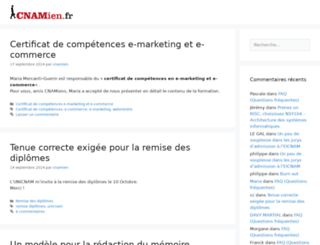 cnamien.fr screenshot
